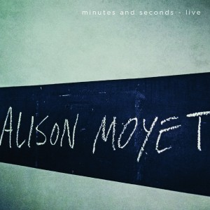 Alison Moyet - minutes and seconds - live COOKCD612