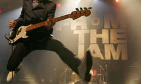 Bruce jumping, from the jam