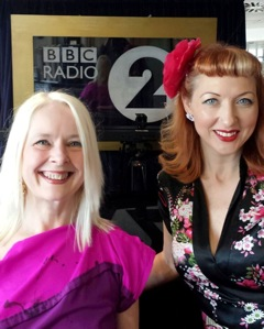 FUZZBOX - Maggie Dunne (left) and Vix Perks, July 2015