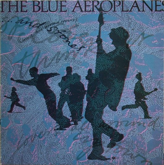 blue aeroplanes