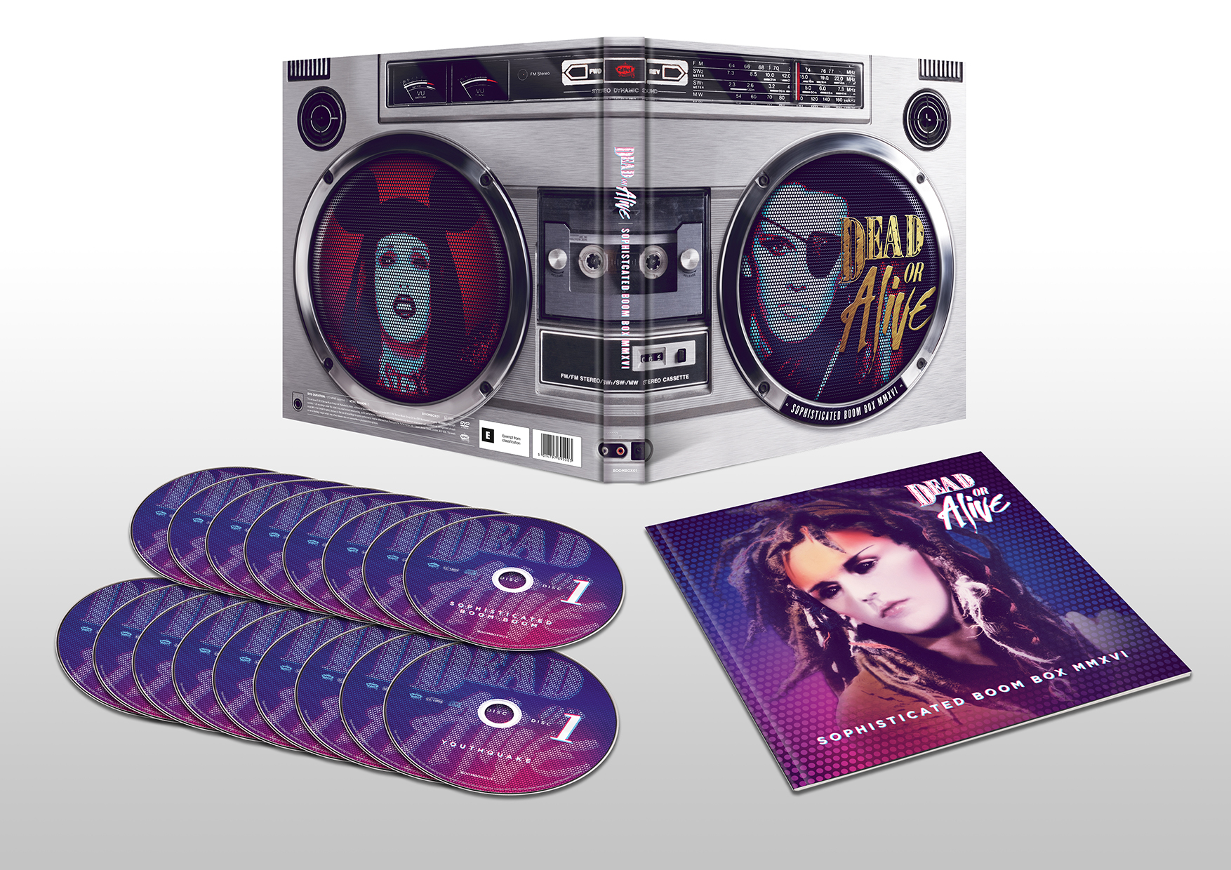 Dead Or Alive Boxset Revealed