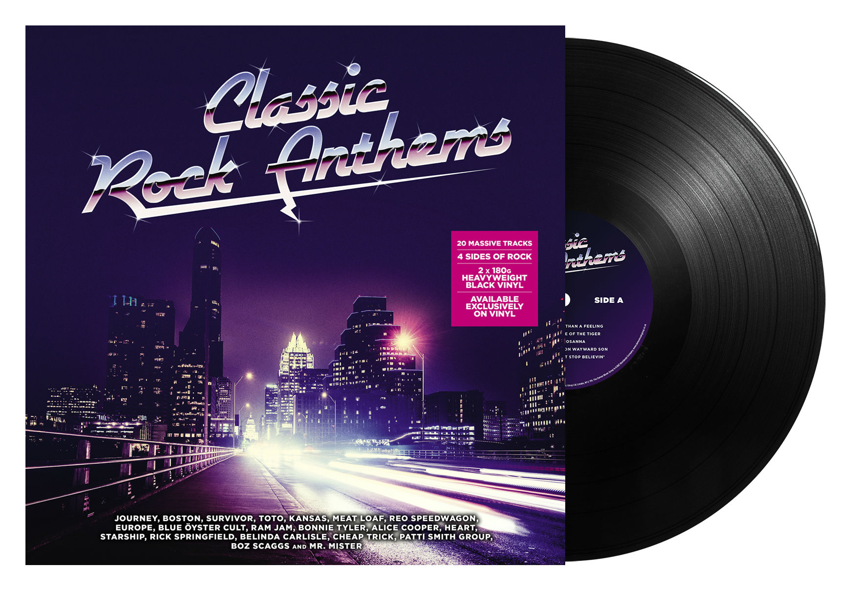 demon music announce classic rock anthems compilation