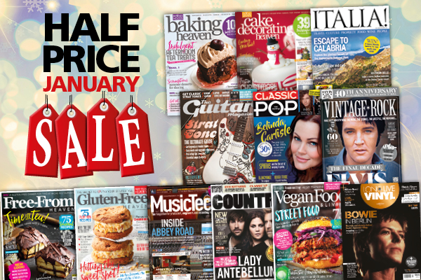 Subscription offers: Half Price January Sale on all Anthem Publishing magazines