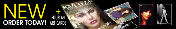 New! Order today! Kate Bush Fan Pack