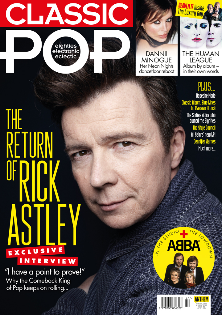 Issue 43 of Classic Pop magazine is on sale NOW!