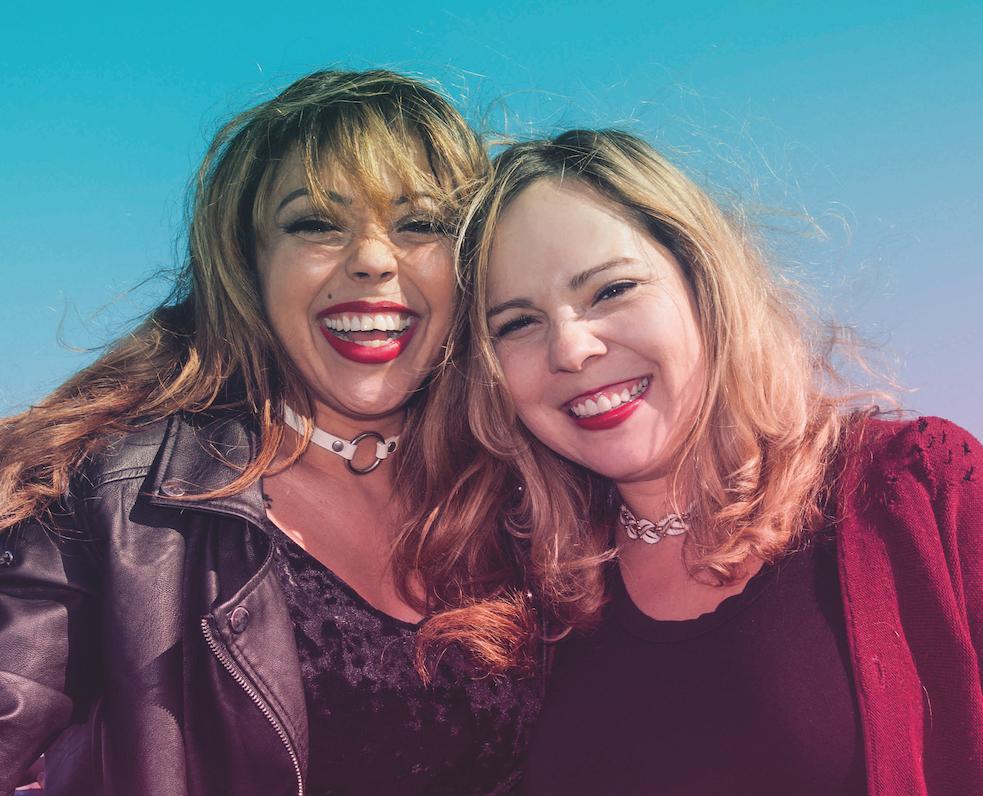 Girls Just Wanna Have Fun: Daphne & Celeste interview