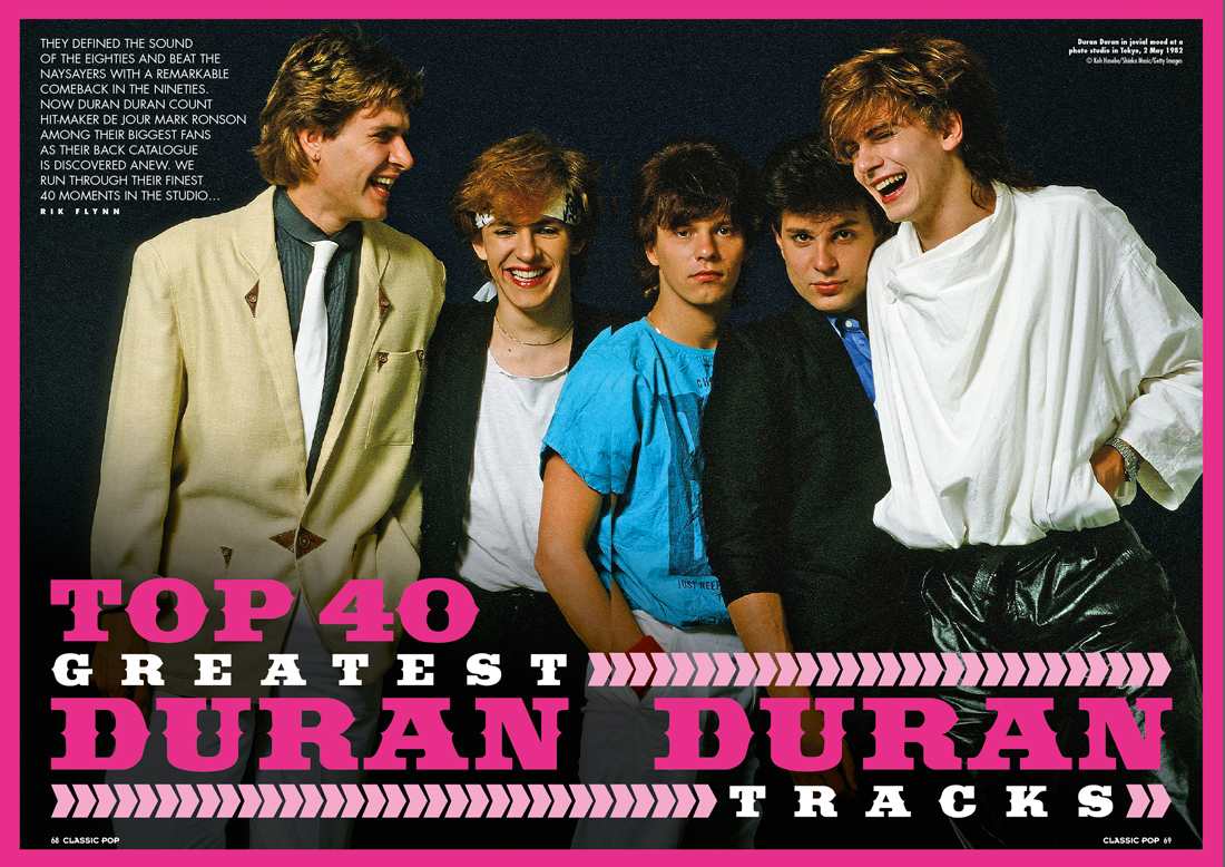 Classic Pop Presents Duran Duran Is Now On Sale Classic