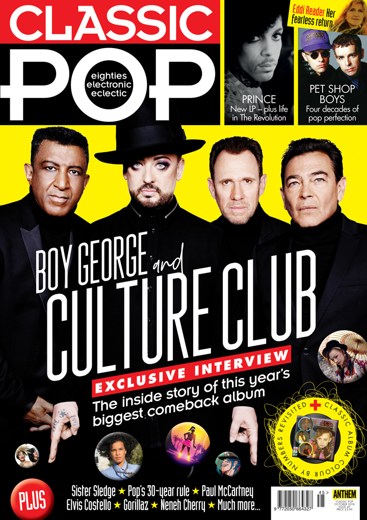Issue 45 of Classic Pop is on sale now!