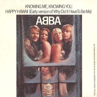 The Lowdown: ABBA - Knowing Me, Knowing You
