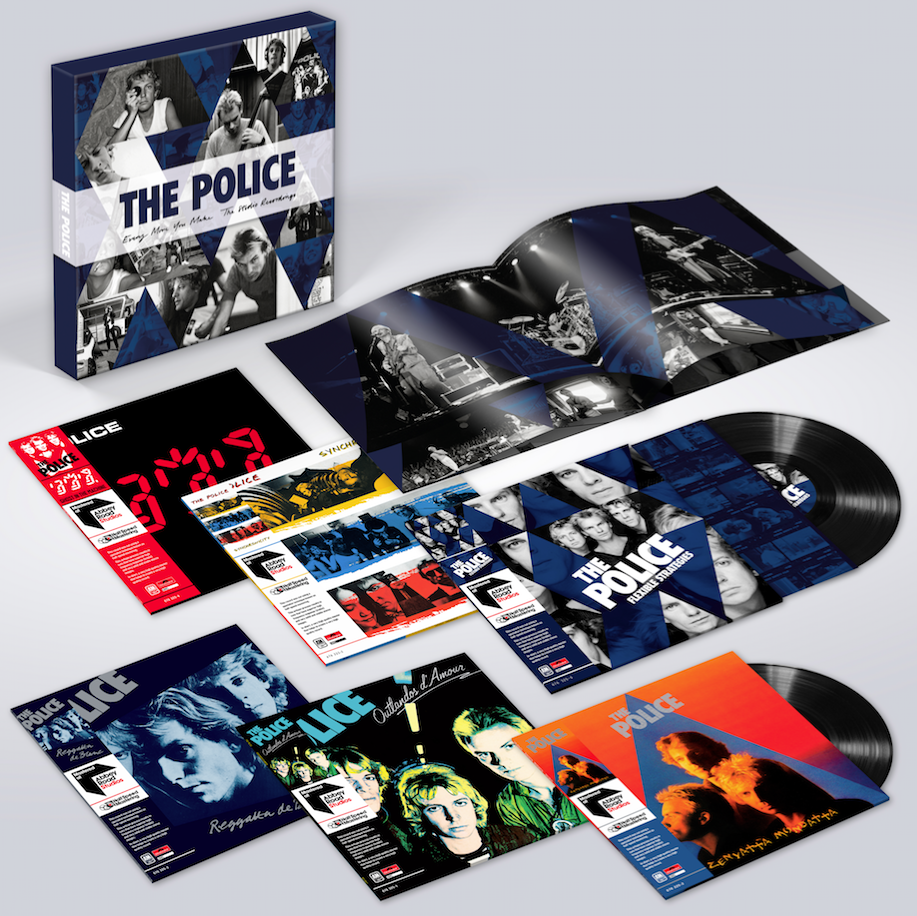 The Police announce Every Move You Make: The Studio Recordings