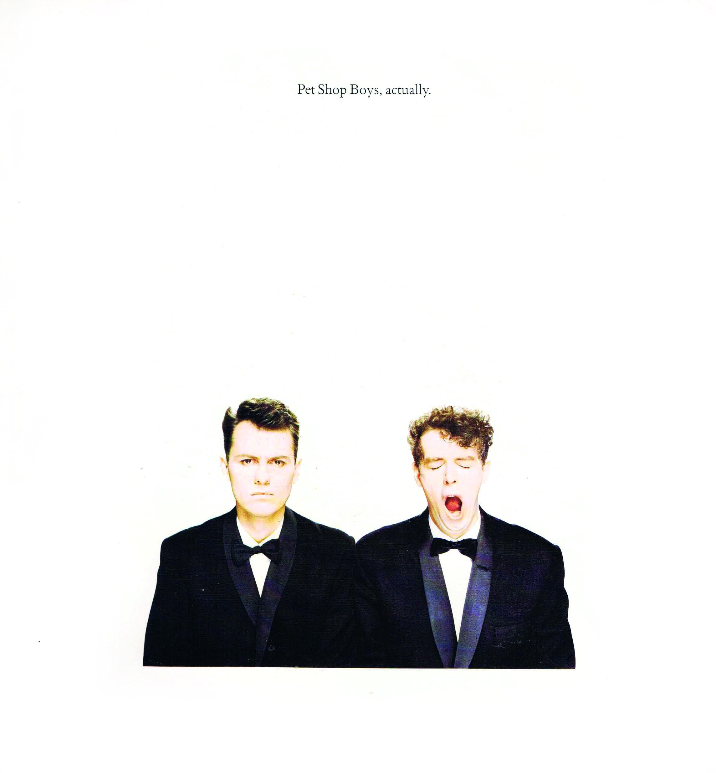 The Lowdown: Pet Shop Boys - Actually