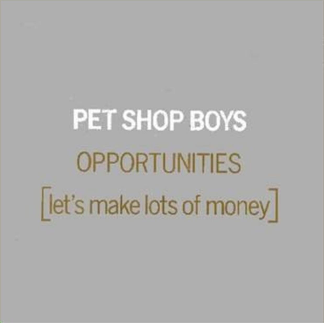 The Lowdown: Pet Shop Boys - Opportunities