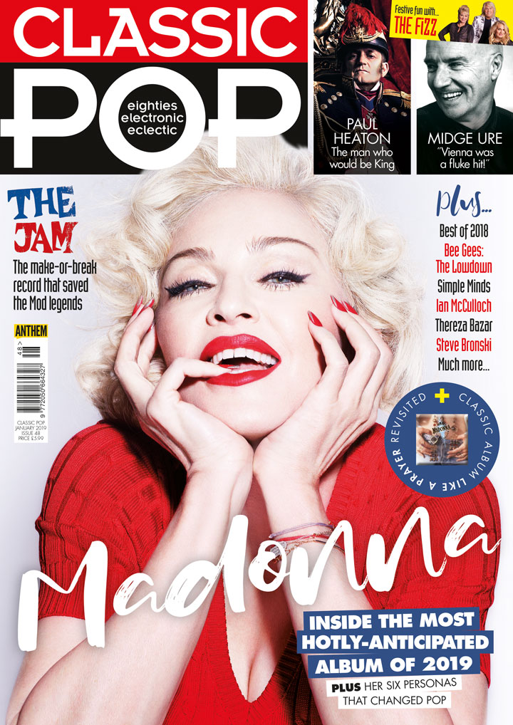 Issue 48 of Classic Pop is on sale now! - Madonna