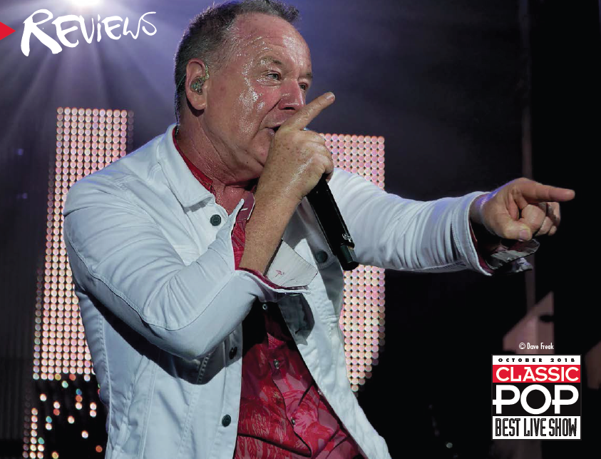 Review: Simple Minds Grandslam '18, Coventry live