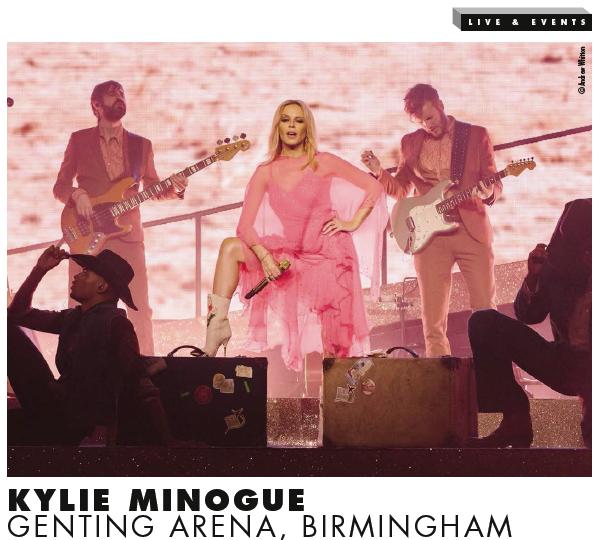 Review: Kylie Minogue, Genting Arena, Birmingham live