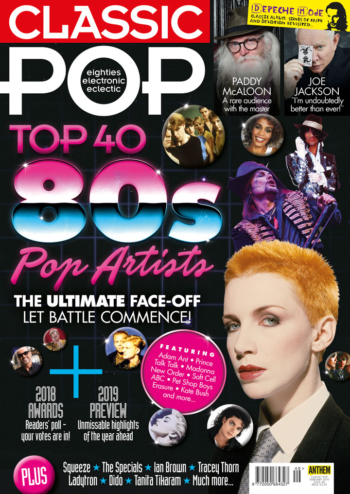 Issue 49 of Classic Pop is on sale now!