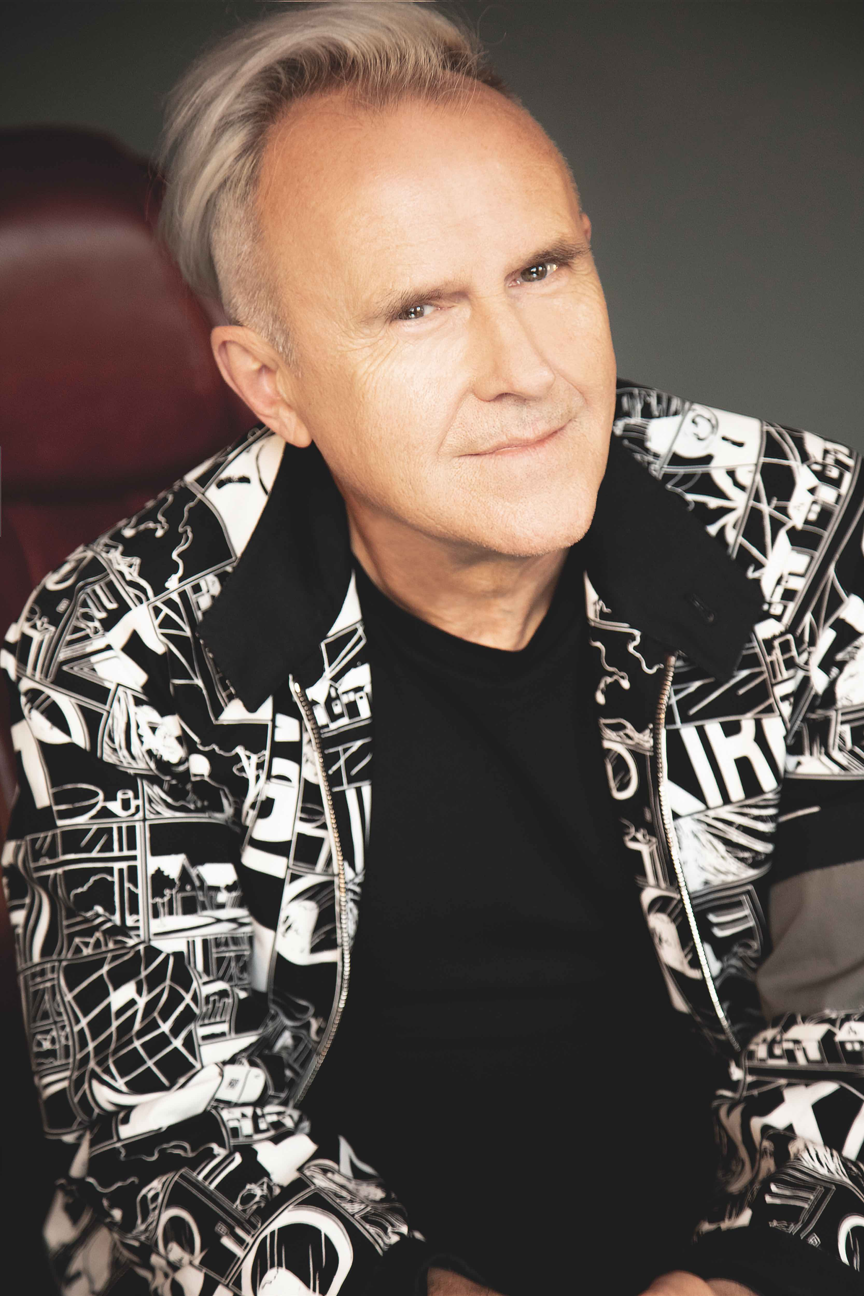 Howard Jones: A man who clearly overpays his stylist