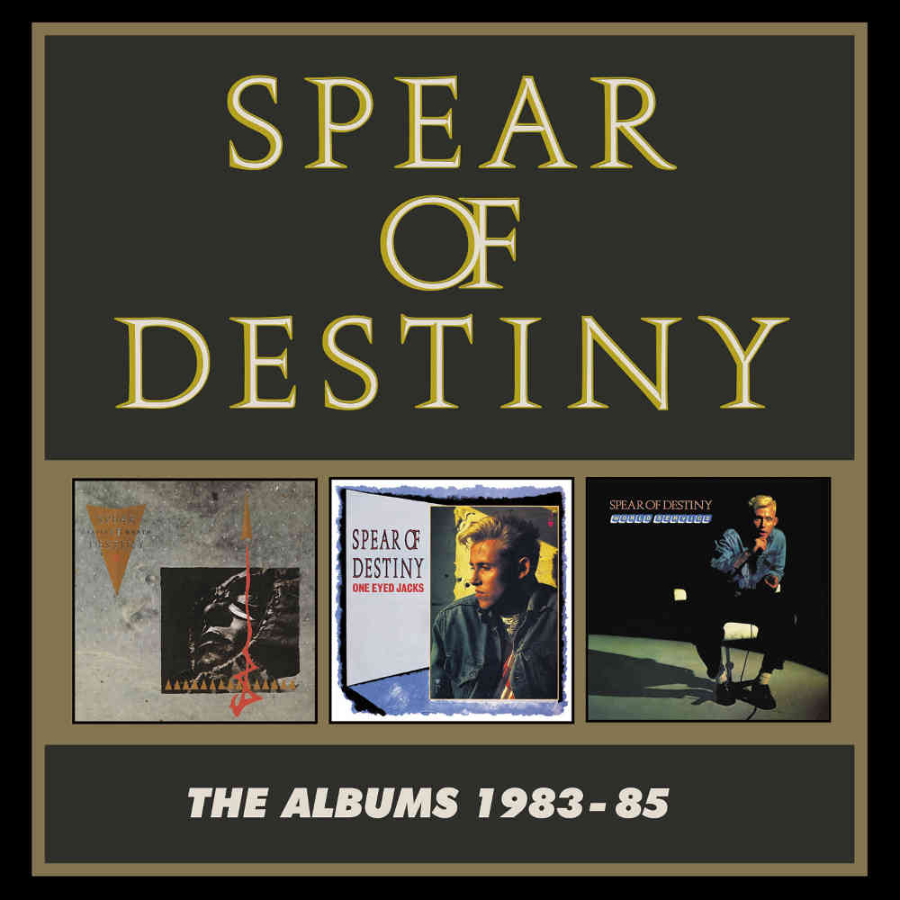 Reissue Review: Spear of Destiny - The Albums 1983-85