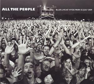 Blur All The People Album Cover