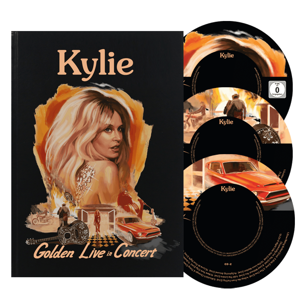 Kylie Gold Live In Concert