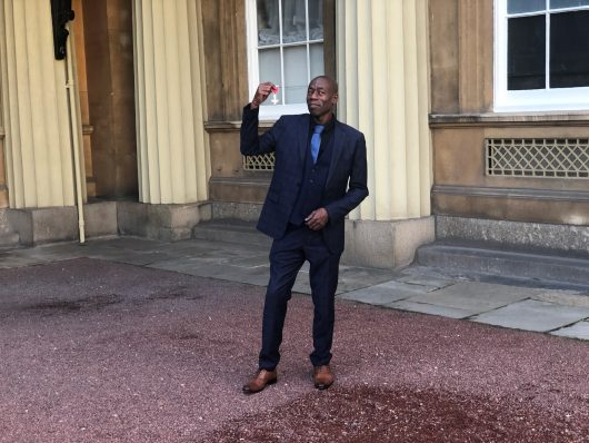 Roachford receives MBE