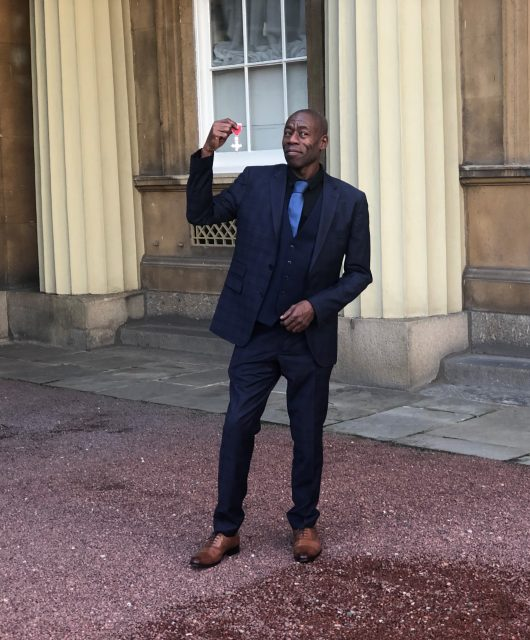 Roachford receives MBE
