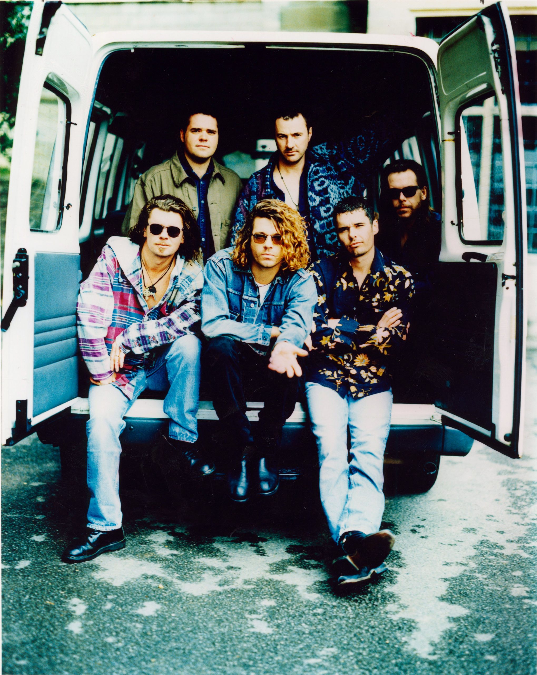 INXS van press shot