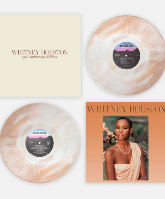 Whitney Houston reissue