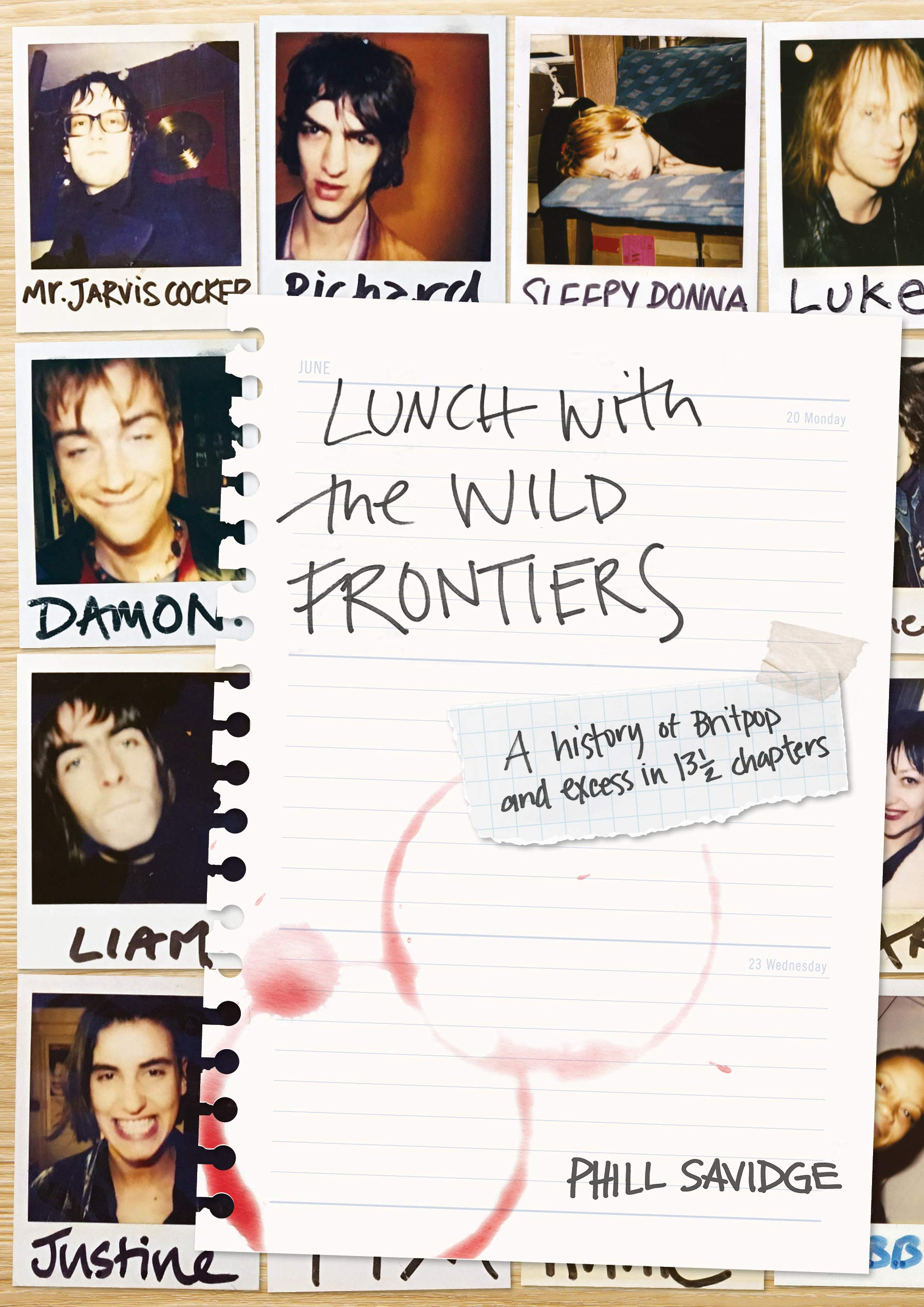 Phill Savidge – Lunch With The Wild Frontiers Top Five Books